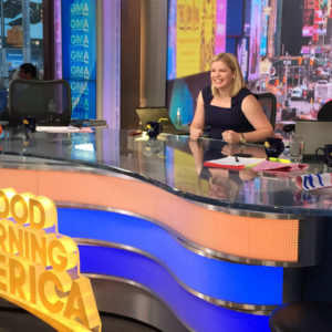 GMA Anchor Desk